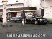 Pipe dans la rue avec un gay